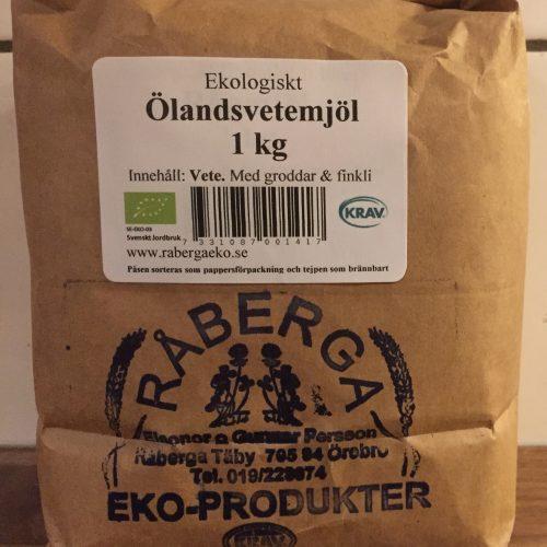 Ölandsvetemjöl 1 kg, med groddar och finkli